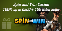 100% Welcome Bonus up to £500