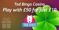 £50 Bonus for just £10