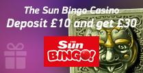 £30 Bonus on £10 Deposit