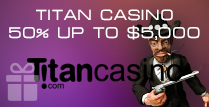 Welcome Bonus of 50% Match up to $5,000