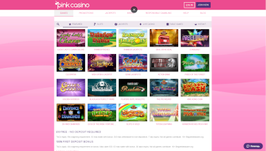 Screenshot 3 PinkCasino