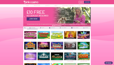Screenshot 2 PinkCasino