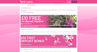 Screenshot 4 PinkCasino