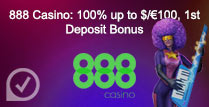 100% up to £100 Welcome Bonus