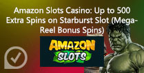 500 Extra Spins on Starburst Slot