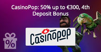 50% up to £300, 4th Deposit Bonus