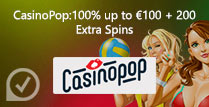 100% up to £100 + 200 Extra Spins