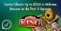 100% up to £100 on First Five Deposits