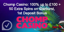 100% up to £100 + 50 Extra Spins on Starburst