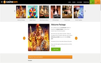 Screenshot 4 Casino.com