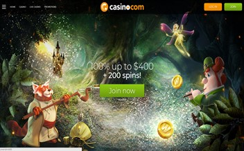 Screenshot 2 Casino.com