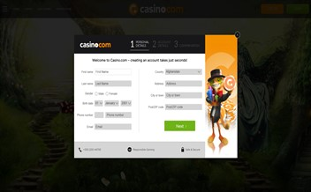 Screenshot 1 Casino.com