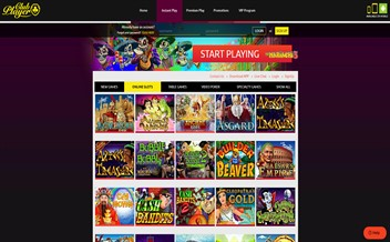 Screenshot 3 Club Player Casino