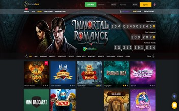 Screenshot 3 FortuneJack Casino