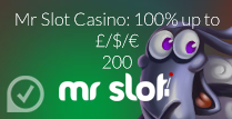 100% up to £200 Welcome Bonus