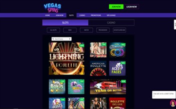 Screenshot 3 Vegas Spins Casino