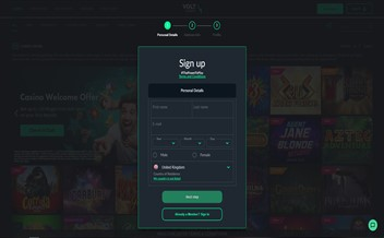 Screenshot 1 VoltCasino