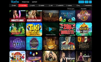 Screenshot 3 Bluefox casino