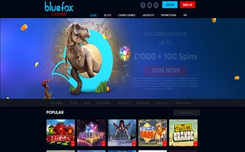 Screenshot 2 Bluefox casino
