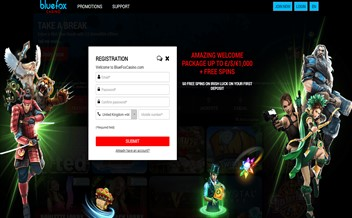 Screenshot 1 Bluefox casino