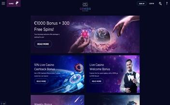 Screenshot 4 Genesis Casino