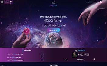 Screenshot 2 Genesis Casino