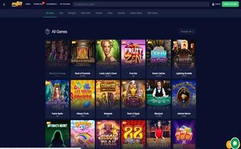 Screenshot 3 mBit Casino