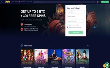 Screenshot 2 mBit Casino