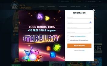 Screenshot 1 Reel Emperor Casino