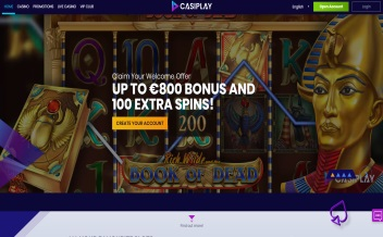 Screenshot 2 Casiplay casino