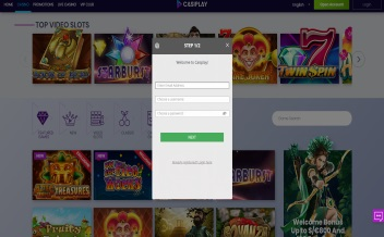 Screenshot 1 Casiplay casino